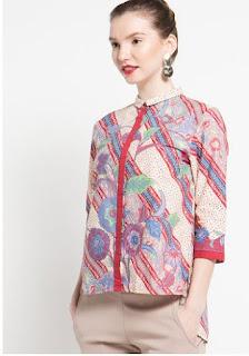 Model Baju Batik Atasan Spesial