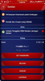 BBM Mod Metalic Angel v2.13.1.14 APK