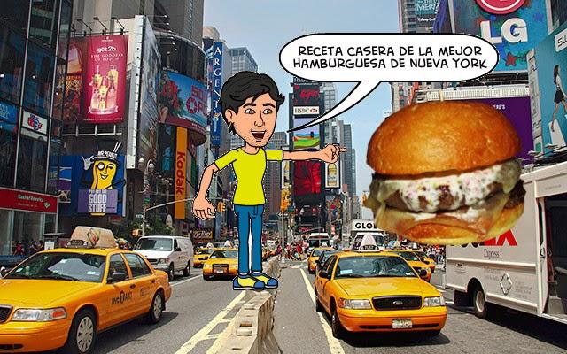 receta mejor hamburguesa de nueva york