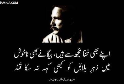 allama iqbal poetry shikwa jawab e shikwa in urdu