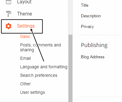 how to add meta description in blogger, blogspot blog par meta description kaise enable kare, blogspot tutorial in hindi, blogger tutorial in hindi