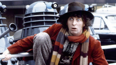 Tom Baker as The Doctor - photo from rottentomatoes.com
