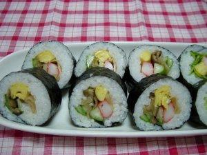 Cơm cuốn sushi chay