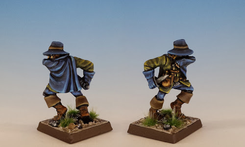 Highwayman, C46 Townsfolk, Citadel (1988, sculpted by Trish Morrison)