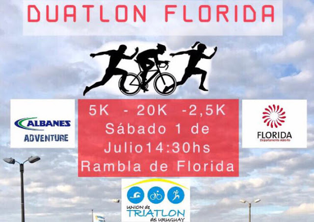Duatlón en Florida (short, 01/jul/2017)