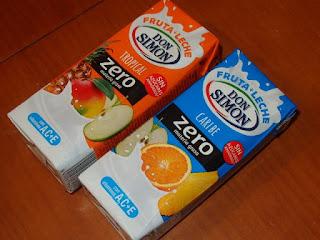 Don Simón,  Fruta + Leche Zero