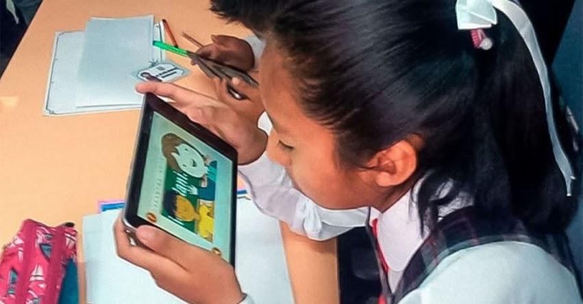 MINEDU entregará a escolares a partir de octubre, el primer lote de medio millón de Tablets, tras haber adjudicado al grupo Deltron S.A. y Máxima Internacional S.A.