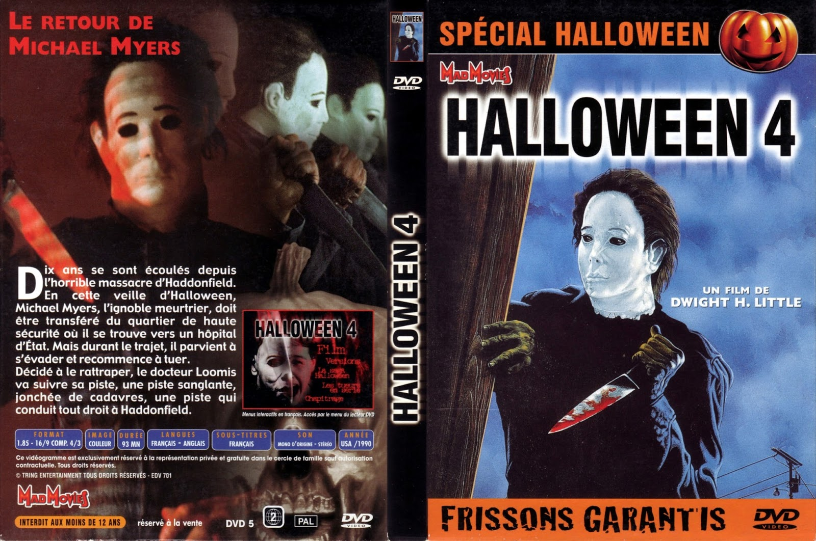 Halloween 4 The Return Of Michael Myers Dvd - #pr-energy