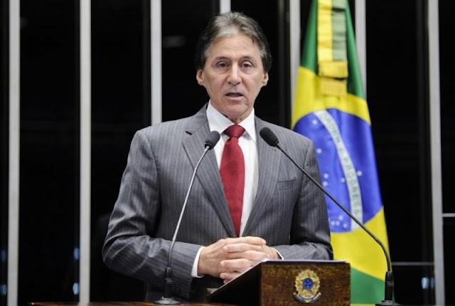 Delator afirma que existe contratos fictícios na campanha de Eunício de 2014, diz a Veja