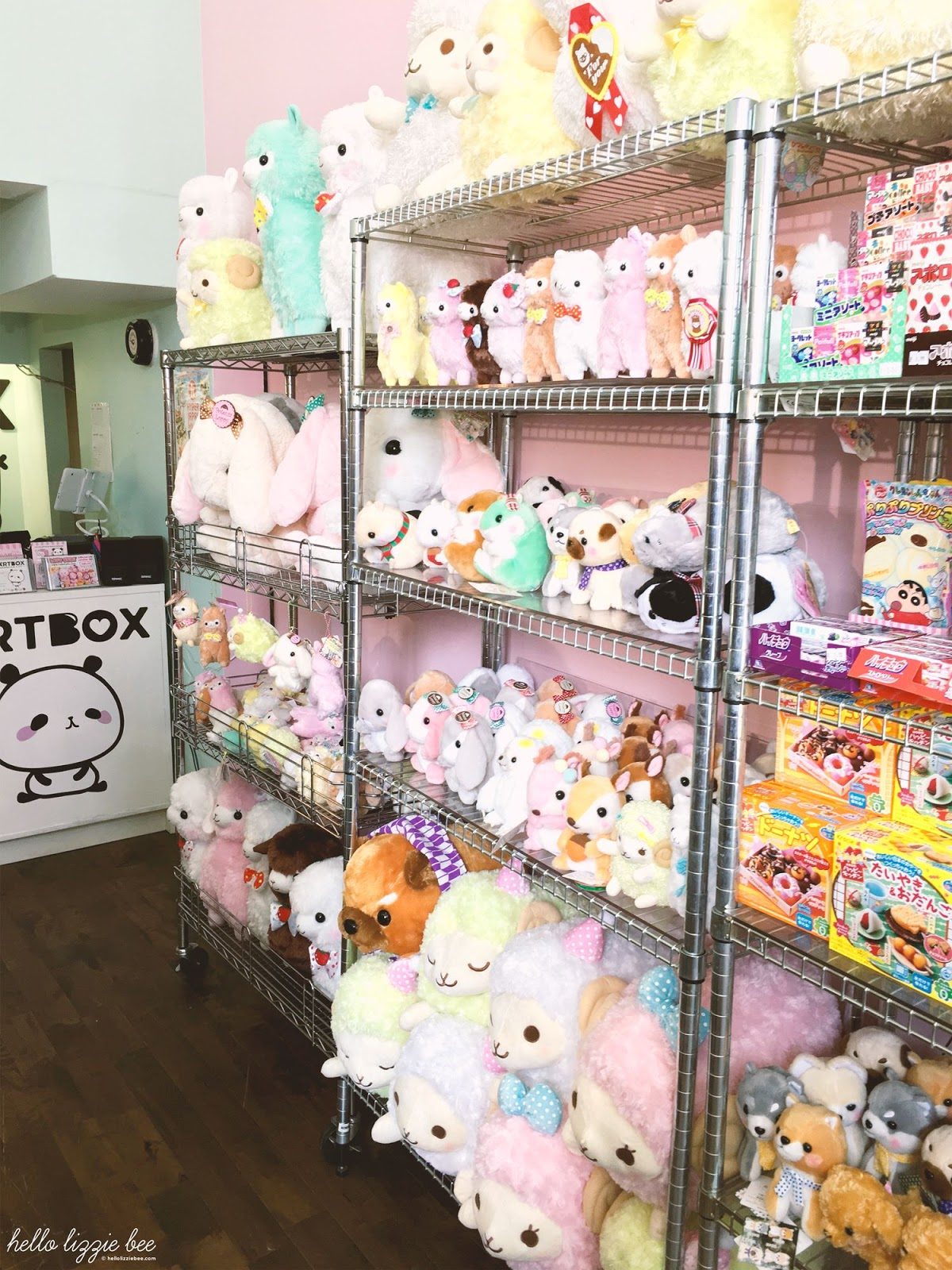 kawaii plushies, artbox london