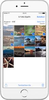 Cara Hapus Foto di iPhone, iPad dan iPod Touch