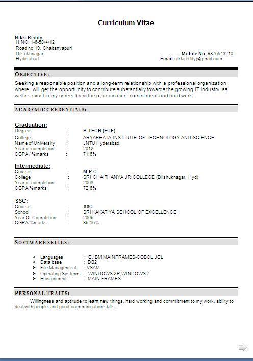 lpn resume example free download