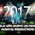 Feliz año 2017 les desea Shantal ProductionS
