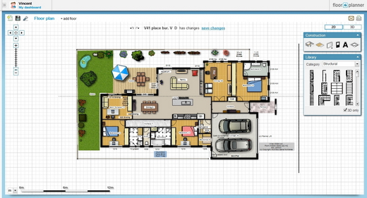 Home furniture design software dreams house for Free office floor plan software