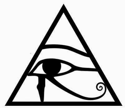 Ojo De Horus Dentro Del Triangulo