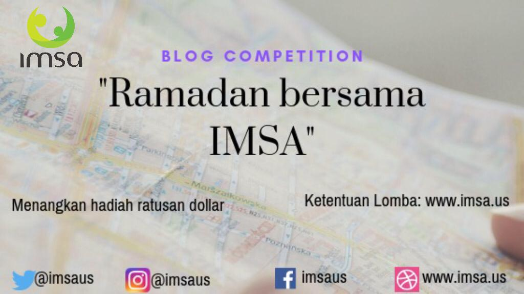 Lomba Blog Indonesian Muslim Society in America (IMSA) 2019