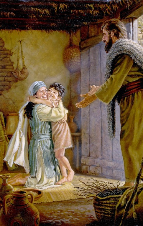 The Lord heard Elijah's cry, and the boy's life returned to him, and he lived. Elijah picked up the child and carried him down from the room into the house.