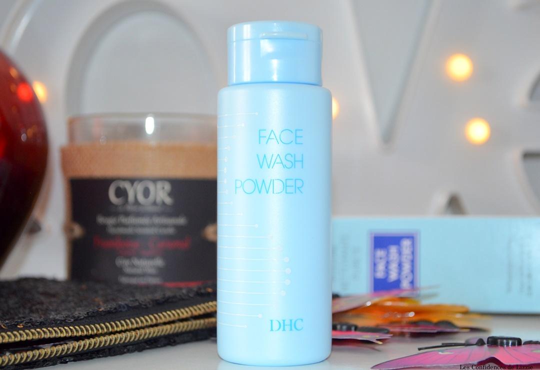 produit nettoyant - soin nettoyant - nettoyant - poudre nettoyante - dhc - soin coreen - soin pas cher - soin visage peu couteux