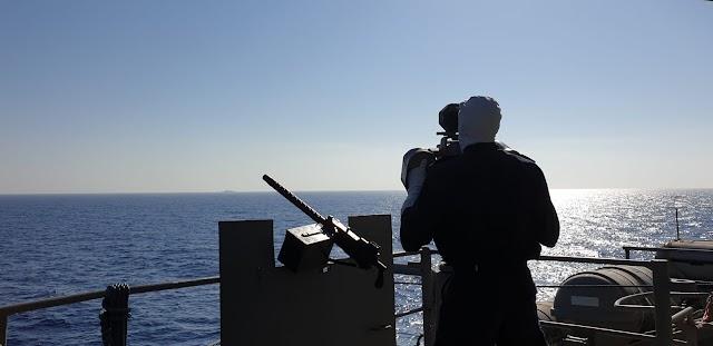 Ένα μήνα ο Ελληνικός Στόλος στην Αν. Μεσόγειο: Πολεμικός «πυρετός» στο Καστελόριζο-Τα κρίσιμα επόμενα 24ωρα