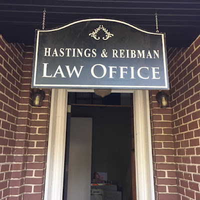 "PLL bts Hastings & Reibman law office 7x10 ""The DArkest Knight"""