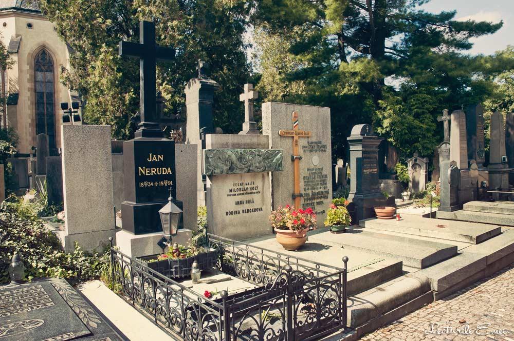 Jan Neruda cimitirul Vysehrad