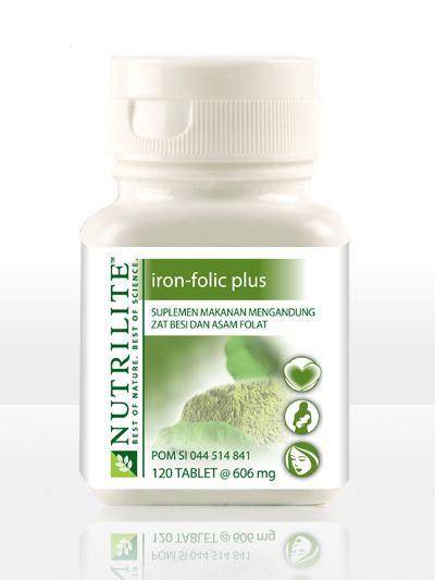 AMWAY STORE: NUTRILITE Iron Folic Plus - Menunjang ...