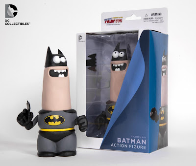 New York Comic-Con 2012 Exclusive Aardman Batman Action Figure by DC Collectibles