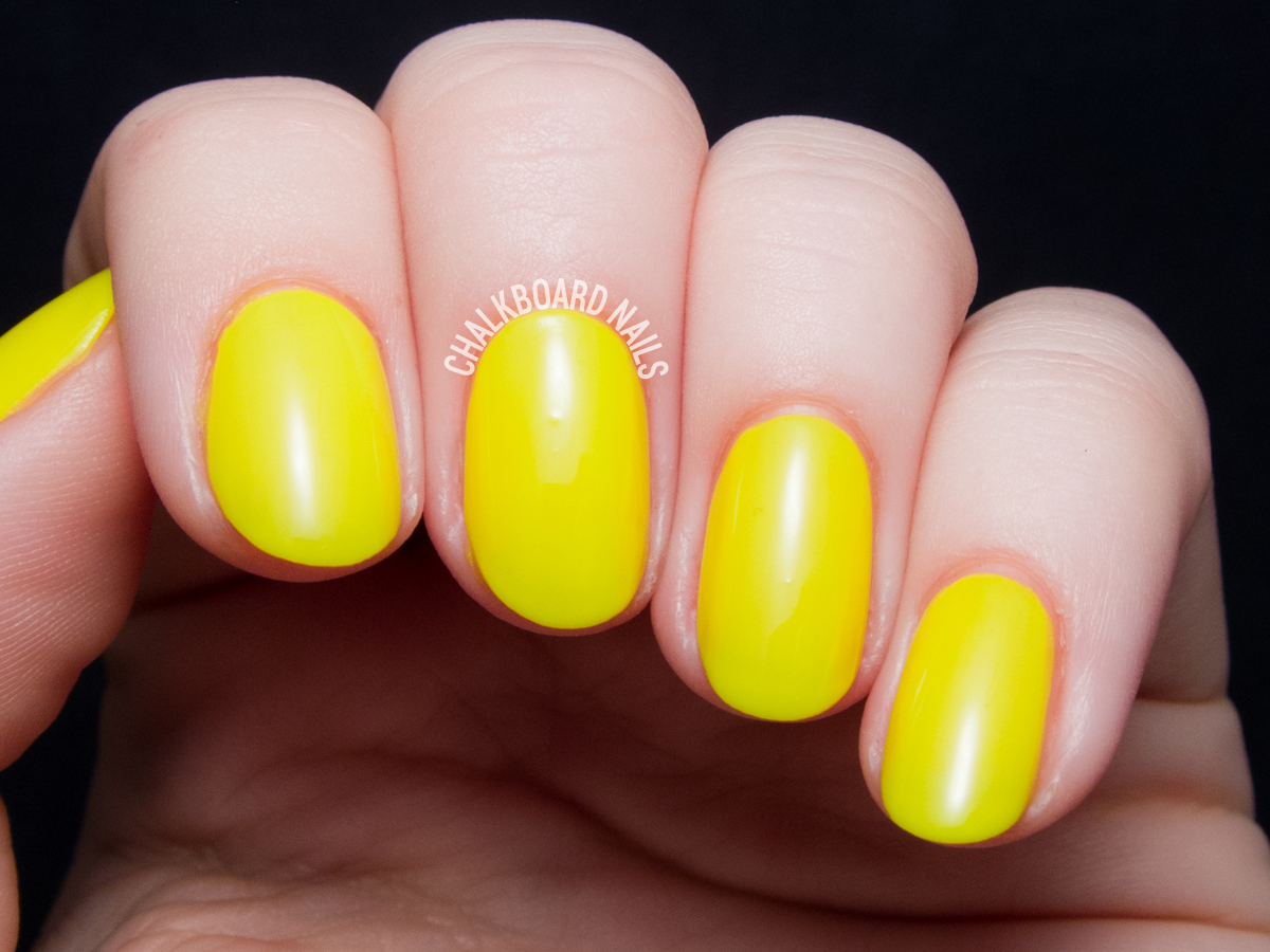 Serum No. 5 Solar Power via @chalkboardnails