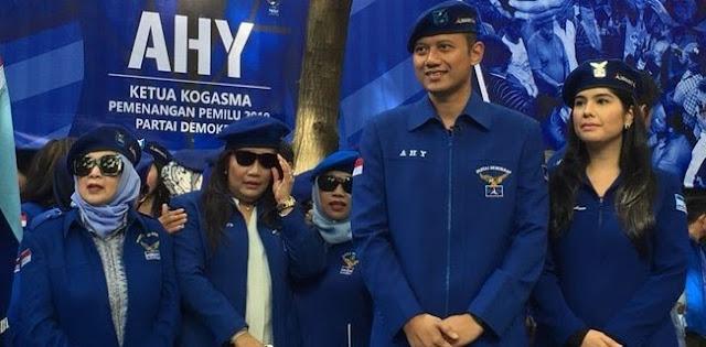 Tidak Benar AHY Atau Ibas Gantikan SBY