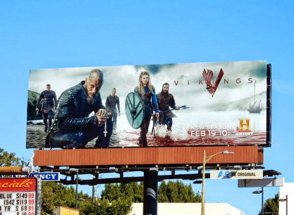 Vikings season 3 History billboard