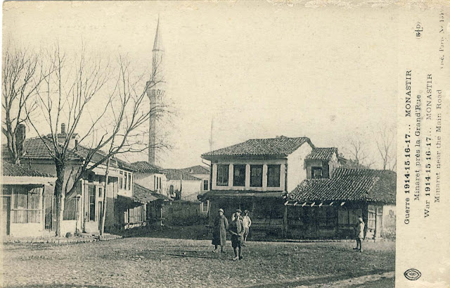 Part of Bitola north of Isac mosque.