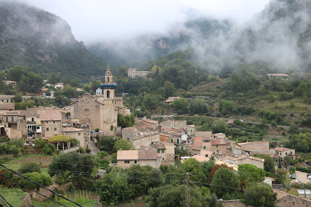 Views of Valldemossa, Mallorca.
