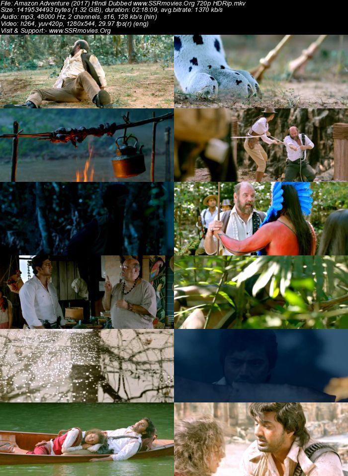 Amazon Adventure (2017) Hindi Dubbed 720p HDRip