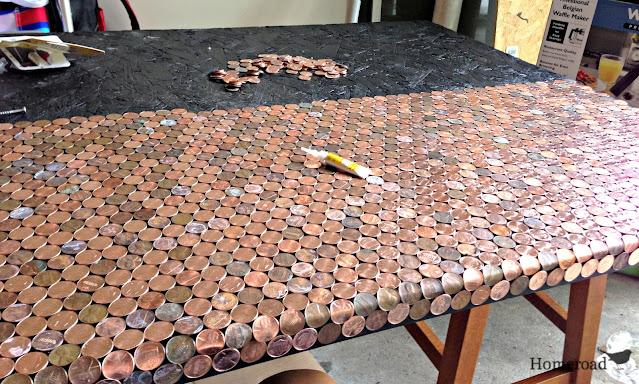 penny desk in progress