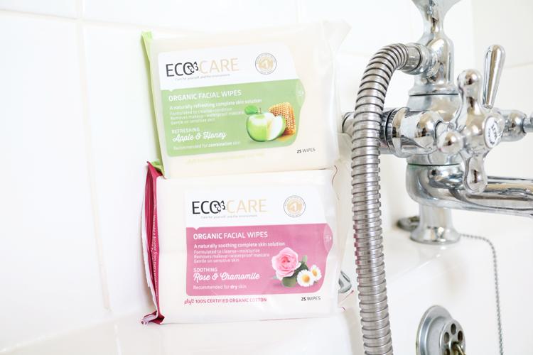 Ecocare Organic Facial Wipes review