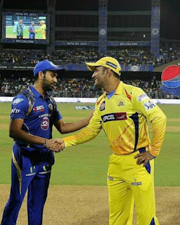 Mumbai Indians Play With Chennai Super Kings