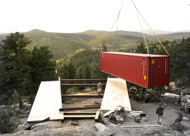 1500 sq ft Off-the-Grid Shipping Container Home, Nederland, Colorado 5