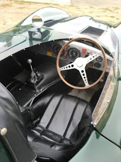 1955 Jaguar XKD Interior