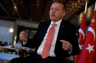 Presiden Recep Tayyip Erdogan