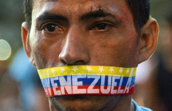 Resultado de imagem para imagens chocantes da ditadura comunista venezuelana