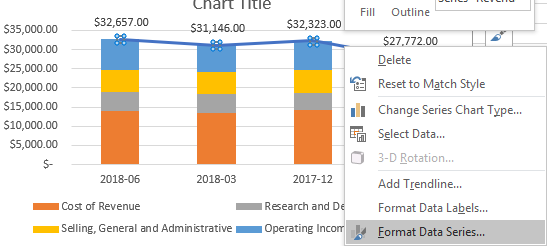 excel chart format data series