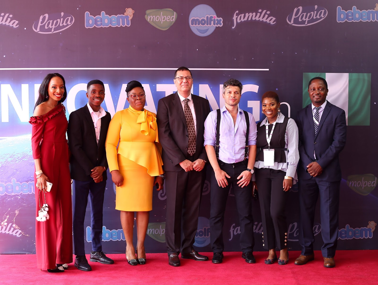 From Left to right: Onyinyechi Nwosu , Brand Manger Molped sanitary Pads category, Familia Tissues & Papia Tissues categories. Ayobami Kalesanwo, assistant ...