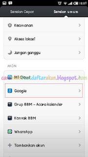 Cara Masuk Akun Google Di Android