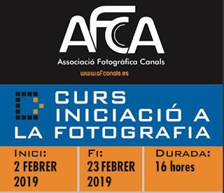 CURS INICIACIÓ A LA FOTOGRAFIA 2019