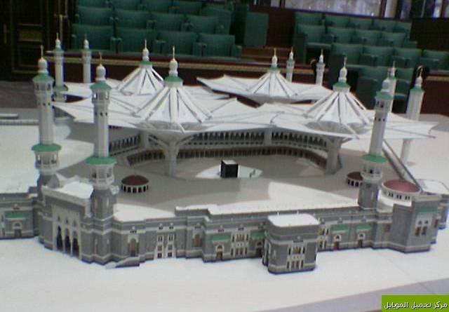 Payung Terbesar Di Dunia Sudah Mulai Di Pasang Di Masjidil Haram
