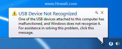 How to fix USB ports not working Device Not Recognized