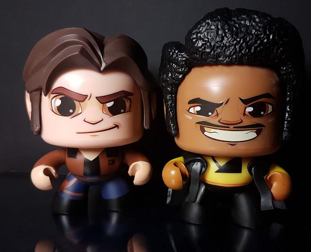 Lando Calrissian, Han Solo, solo a star wars story, Star Wars, Hasbro, Mighty Muggs
