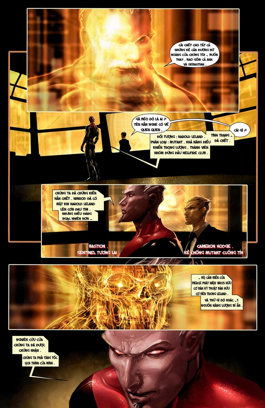 X-Men Necrosha chap 1 trang 11