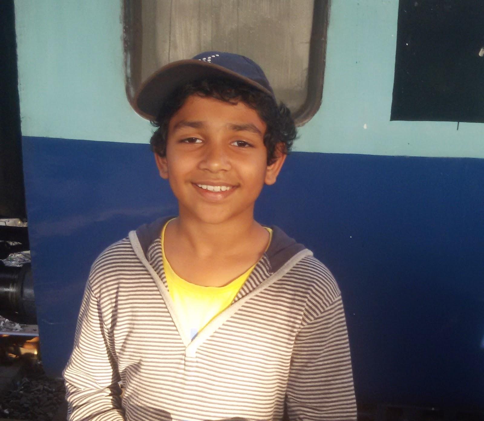 Kids Who Read: Abhimanyu Mhatre, Class 6, MET Rishikul Vidyalaya, Mumbai