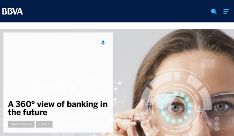 BBVA – A 360° view of banking in the future